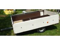 Trailer used for carrying camping gear or tip runs