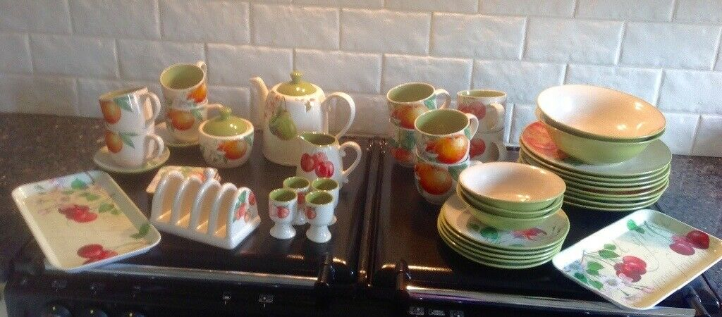 Dinner Ware Quality Manufacturer Arthur Wood Fruit Grove Fine Stoneware  Microwave & Dishwasher Safe | in Marton-in-Cleveland, North Yorkshire |