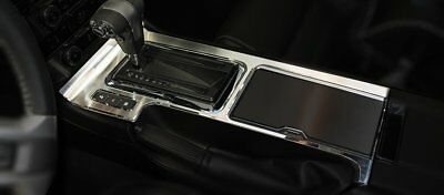 (2010-2014 Mustang Brushed  Polished Center Console Trim Panel )