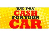 SELL YOUR CAR FOR CASH!