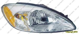 Head Lamp Passenger Side Without Centennial Package High Quality Ford Taurus 2003
