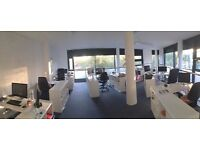 Rent a desk in Greenwich / Deptford's New coworking Space! SE8 SE10 SE13 SE4 SE14 SE15 SE16
