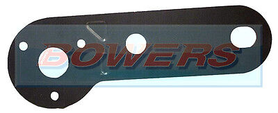 12N CARAVAN TRAILER TOWING TOWBAR SINGLE ELECTRICS SOCKET MOUNTING BRACKET PLATE