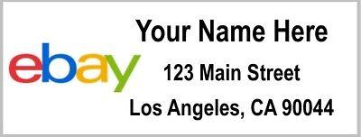 30 Ebay Personalized Address Labels Or Seals - Ebay Return Address Labels