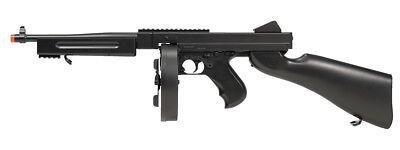 6f4c614a036f3  330 FPS  Double Eagle Thompson M1A1 Electric Airsoft Gun Rifle 6mm BBs Air  Soft