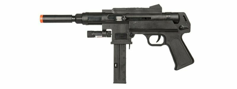 286 Fps Spring Tactical Airsoft Gun Rifle 6mm Pistol + Bbs + Laser + Flashlight