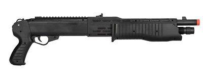 UKARMS P2302 SPAS 12 PUMP ACTION SPRING AIRSOFT SHOTGUN RIFLE GUN w/ 6mm BBs ()
