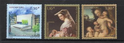 LUXEMBOURG MNH 2004 SG1684-1686 NATIONAL MUSEUM OF HISTORY AND ART