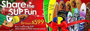 Shogun Surfing Stand Up Paddle Board **Christmas Special** Lidcombe Auburn Area Preview