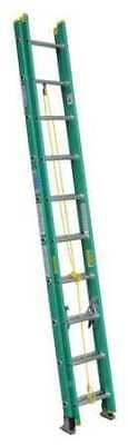 Werner D5920-2 Extension Ladder Fiberglass 20 Ft. Type Ii