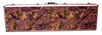 Shotgun Camouflage Aluminum Gun Case – Bow Fishing Rod Camo Case With Foam – NEW Cases