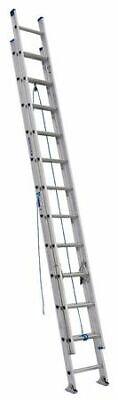 Werner D1324-2 Extension Ladder Aluminum 24 Ft. Type I