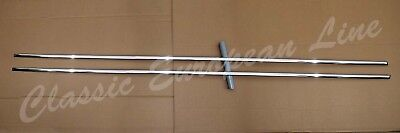 Mercedes Benz W114 Lang, rocker panel moulding set with clips. New.