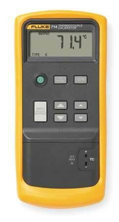 FLUKE Fluke-714 Temp Calibrator,to2498 Degrees F,NIST