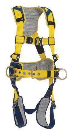 3M DBI-SALA 1100786 Delta Comfort Construction Style Positioning Harness, M