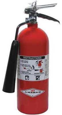 Amerex 322 Fire Extinguisher 5bc Carbon Dioxide 5 Lb.