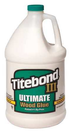 TITEBOND 1416 Wood Glue, Gallon, Tan, FDA Approved