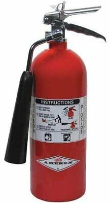 Amerex 322 5 Lb. Carbon Dioxide Co2 5-bc Fire Extinguisher For Class Bc Fire