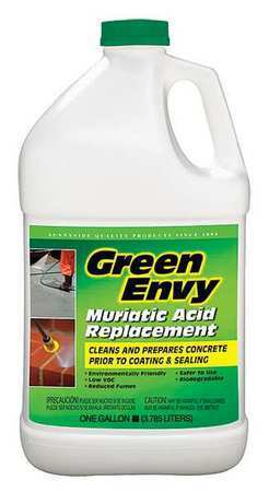 Green Envy 610G1 Liquid 1 Gal. Muriatic Acid, Jug