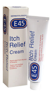 E45 ITCH RELIEF 100G CREAM FOR ITCHY ECZEMA & DRY SKIN