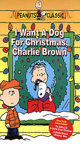 I Want A Dog For Christmas Charlie Brown.I Want A Dog For Christmas Charlie Brown Vhs 2004