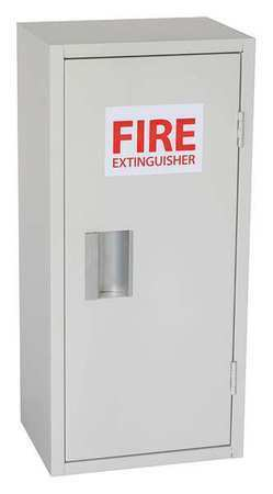 ZORO SELECT 35GX44 Fire Extinguisher Cabinet,20lb,12inW