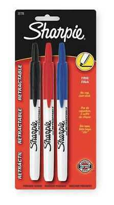 Sharpie 32726pp Retractable Permanent Marker Set Fine Tip Assorted Pk12