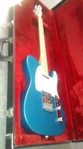 Fender Standard Telecaster.Made in Mexico.Lake Placid Blue