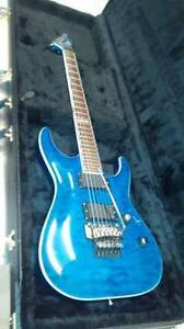 ESP LTD MH-400 FR.EMG 81 and 85 active pick ups.Quilted Maple