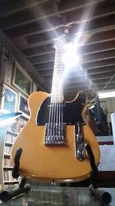 FENDER Squier Guitar 2016 Tele Affinity Series Butterscotch $225