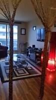 Beautifully Decorated here is a 1 bedroom and 1 bathroom,  super