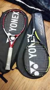 2 Yonex tennis racquets Xi/Ai 98