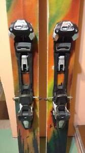 4FRNT Renegade Powder Skiis w/ Marker Baron Touring Bindings Comox / Courtenay / Cumberland Comox Valley Area image 2