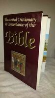 llustrated Dictionary & Concordance of the Bible - Hardcover