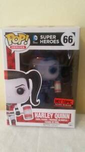 Mint HARLEY QUINN Funko Pop #66 HOT TOPIC