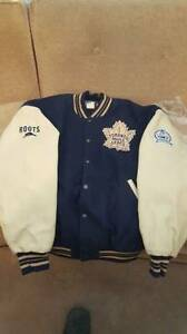 UNIQUE TORONTO MAPLE LEAF LEATHER WINTER JACKET - $650 (Toronto)