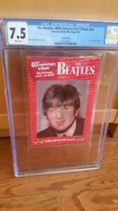 The Beatles Anniversary Tribute Collectibles CGC Graded $250