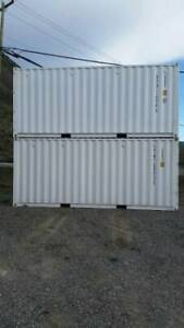 Rent Me! 20' New White Storage Container