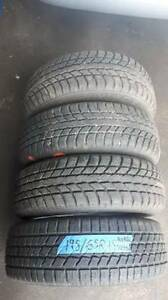 I am selling A set of four 195/65R15 winter NORDIC and AURORA ti