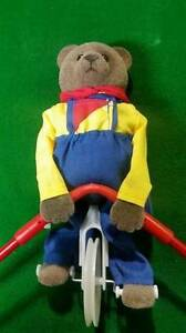 ERNEST The Balancing Bear Toy Unicycle Tightrope Walker $29
