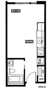 Studio unit near downtown available for rent furnish/unfurnished