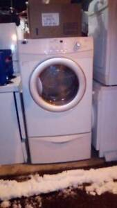 Maytag Large Dryer with Pedestal $ 225/=... Delivery + Install