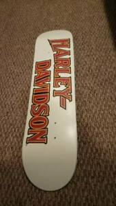 Darkstar harley Davidson skateboard deck white/red