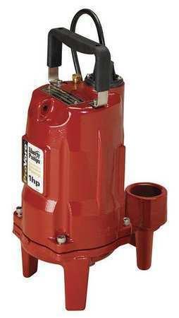 LIBERTY PUMPS PRG102M Grinder Pump,Manual,230V