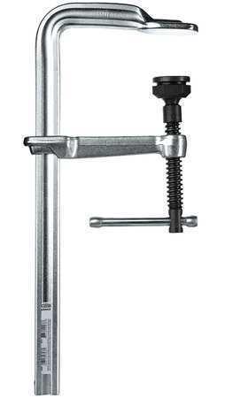 "BESSEY GSL60 24"" Bar Clamp Steel Handle and 4-3/4"" Throat Depth"
