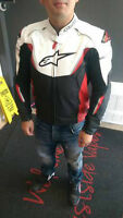 Alpinestars Leather Jacket with Back protector insert - $500
