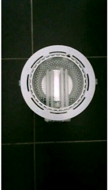 Ceiling lighting, circular recessed plc 2x26w downlight
