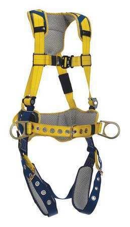 3M DBI-SALA 1100795 Delta Comfort Construction Style Positioning Harness, S