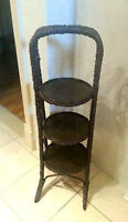 Vintage Wood PLANT STAND - 3 Tier