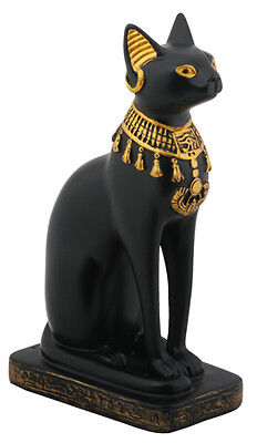 EGYPTIAN BASTET CAT STATUE. EGYPT GODDESS BAST FIGURINE.NEW on Rummage